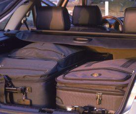 limite de bagagem em veículos